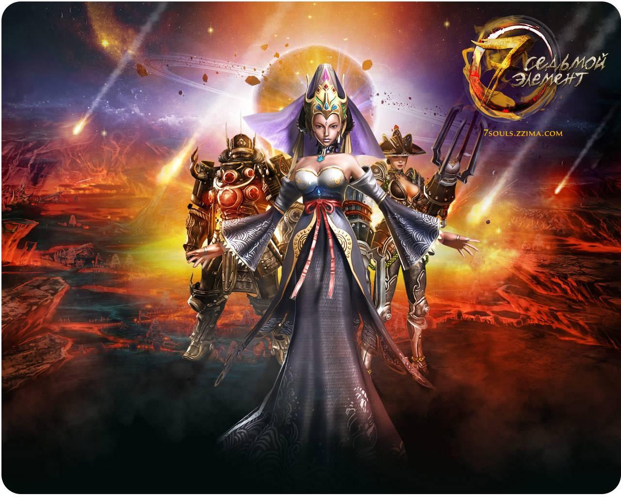 Седьмой элемент ролевой онлайн-боевик Играть