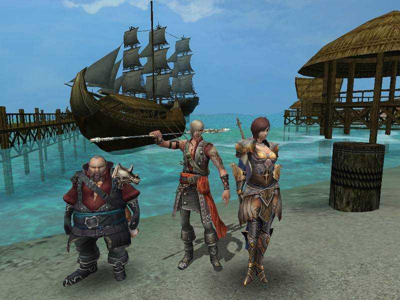 Играть Karos Online MMORPG онлайн-игра в стиле фентези