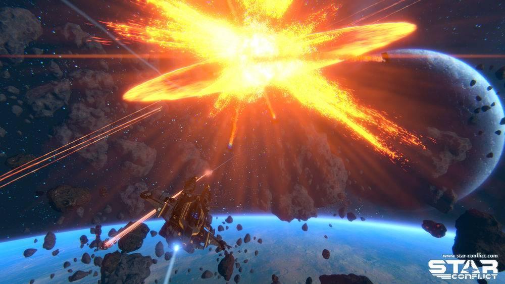 Star Conflict космический экш