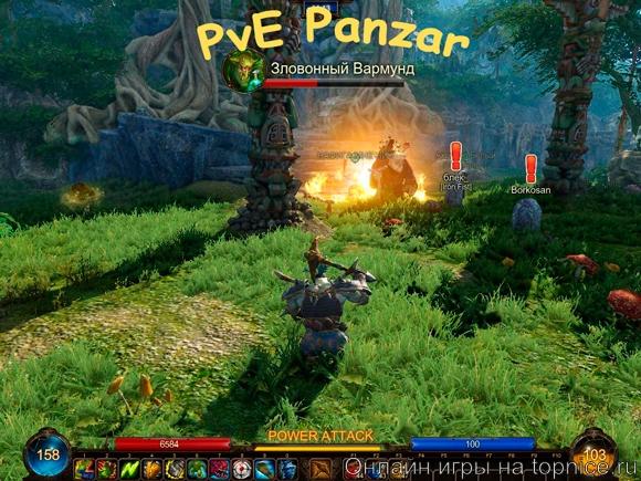 Panzar PvE обзор, видео  на topnice.ru